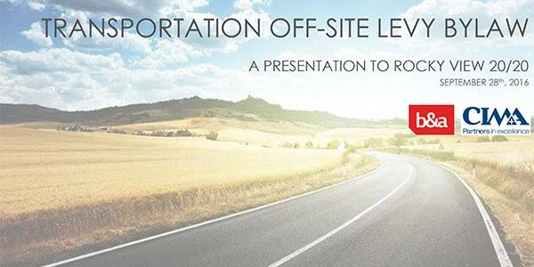 Off-Site Levy Presentation